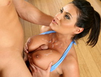 Charley Chase getting her tight snatch rammed