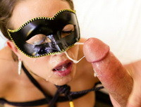 Masked Beauty Lily Love Fucked In Wet Pussy