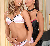 Eve Angel and Alexa - Lesbian Love