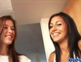 Brooke Skye and Raven Riley Here - Nipple Lickin Fun