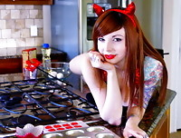 Ivy Snow is a Naughty Devil