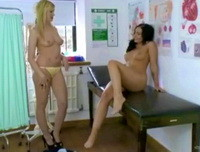 Kayleigh Williams, Kym Hodgson - panties and socks