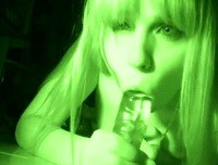 Ariel Rebel - Night Vision Dildo Play