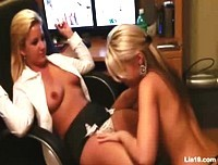 Lia19 plays with Ann Angel