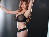 Tessa Fowler - Black Lace Lap Dance