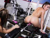 Shana Lane, Roxy Lane - Live Show in the Studio's Gym