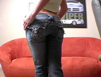 Jaime Ryans - Tight Jeans Strip