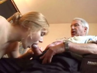 Beauty And The Senior: Jenna gets and old cock
